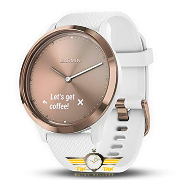 ساعت گارمین GARMIN VIVOMOVE HR ROSE GOLD