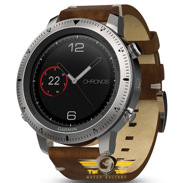 ساعت گارمین GARMIN FENIX CHRONOS LEATHER