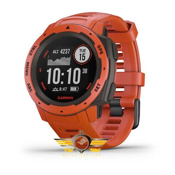 ساعت-مچی-اینستینکت-قرمز-GARMIN-INSTINCT-RED